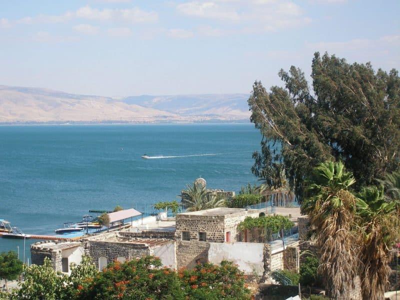 Principales atracciones de Israel: el mar de Galilea