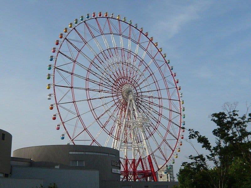 Las mejores ruedas de la fortuna: Daikanransha, Japón