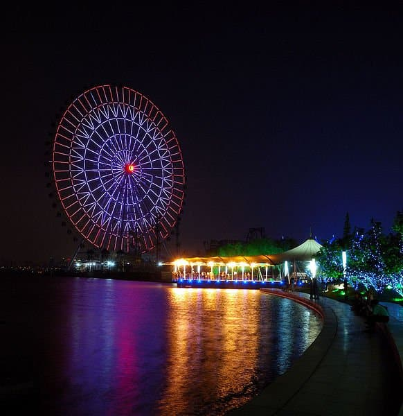 Las mejores ruedas de la fortuna: Noria de Suzhou, China