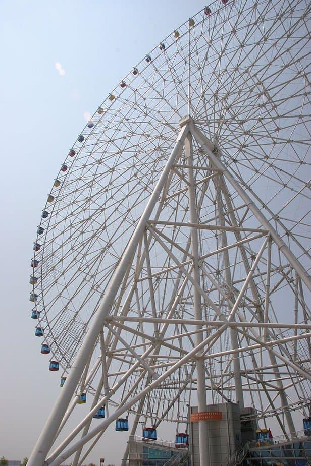 Las mejores ruedas de la fortuna: estrella de Nanchang, China
