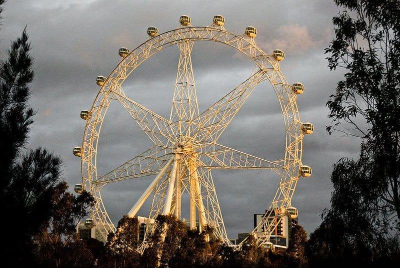 Las mejores ruedas de la fortuna: Melbourne Star, Australia