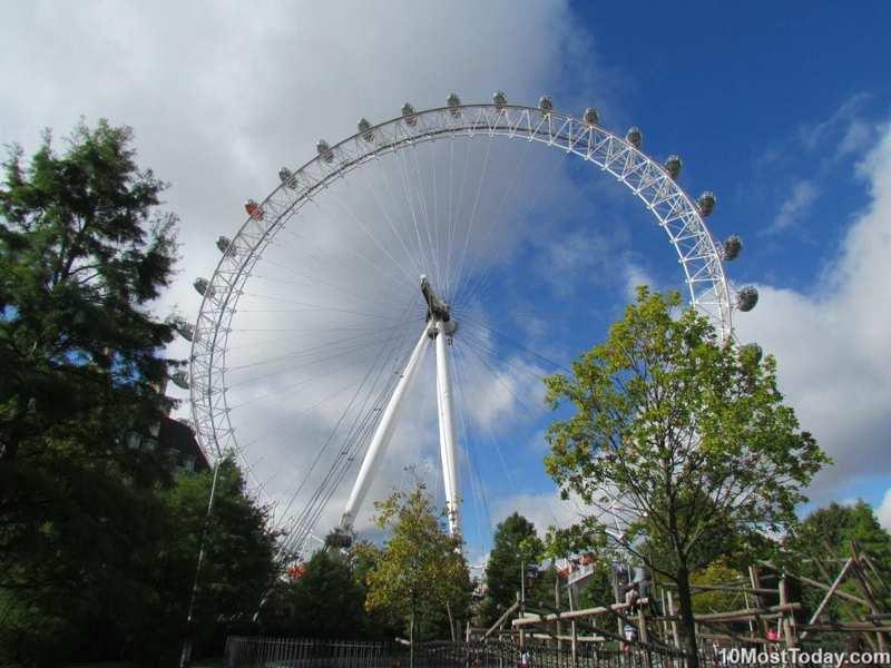 Principales atracciones de londres: london eye ferris wheel