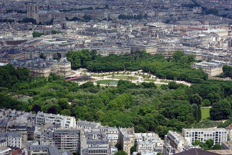 Principales atracciones de París: Jardines de Luxemburgo