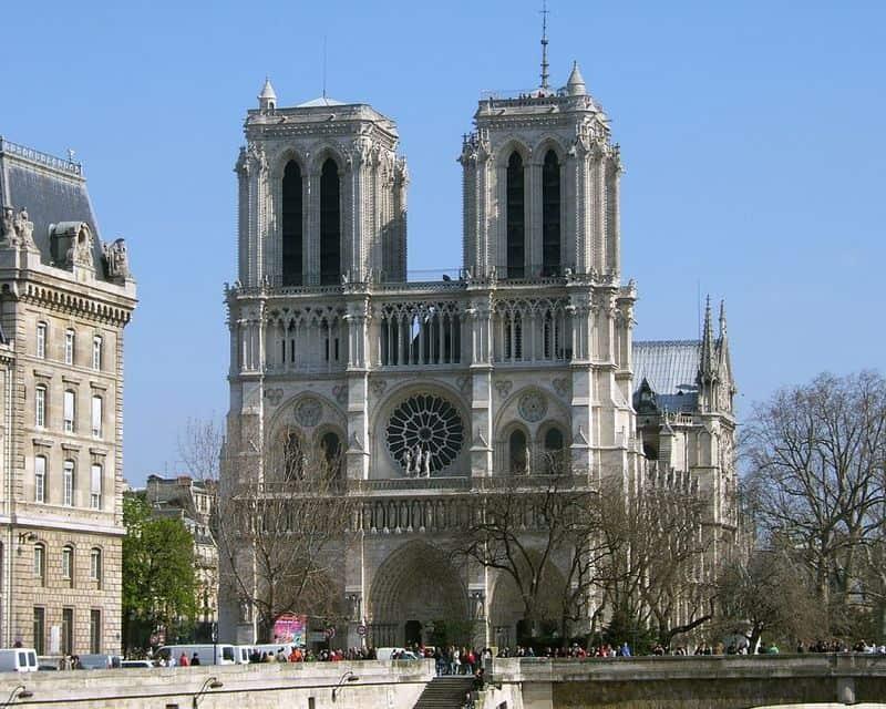 Principales atracciones de París: Notre Dame de París