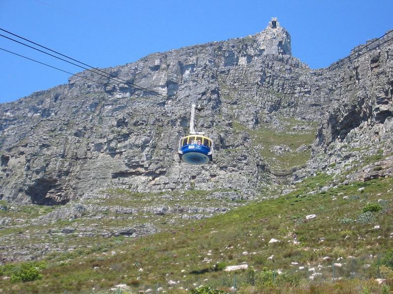 Las 10 plataformas elevadoras más increíbles del mundo: teleférico a Table Mountain
