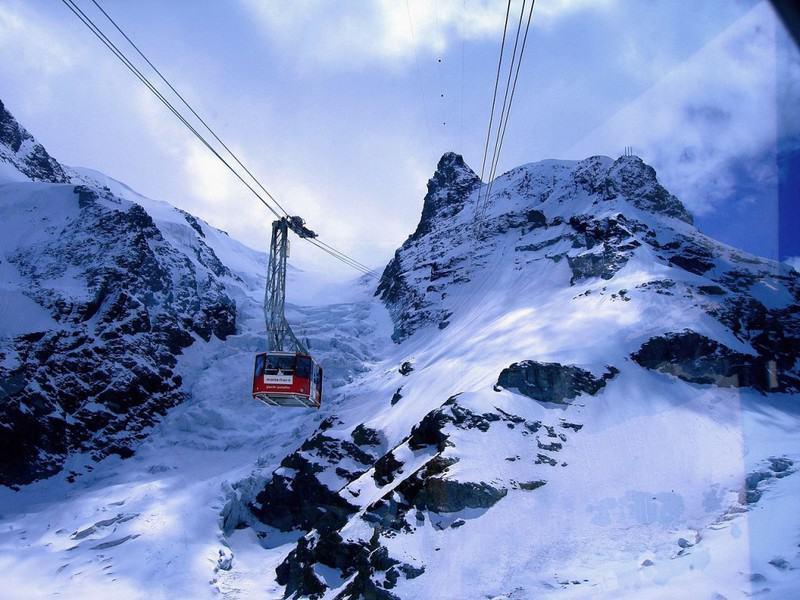 Las 10 plataformas elevadoras más increíbles del mundo: Klein Matterhorn