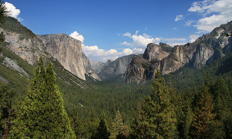Increíbles sitios del patrimonio natural: Yosemite