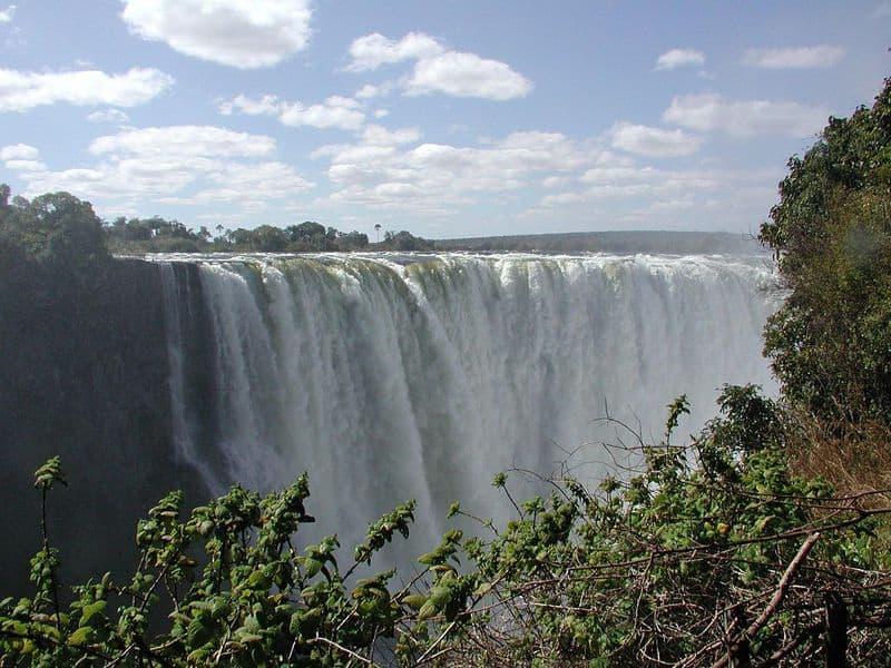 Increíbles sitios del patrimonio natural: Cataratas Victoria