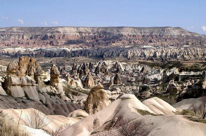 Parque Nacional de Goreme y los sitios rocosos de Capadocia