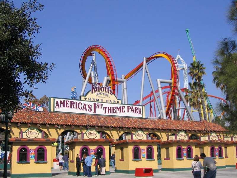 Parques temáticos en EE. UU.