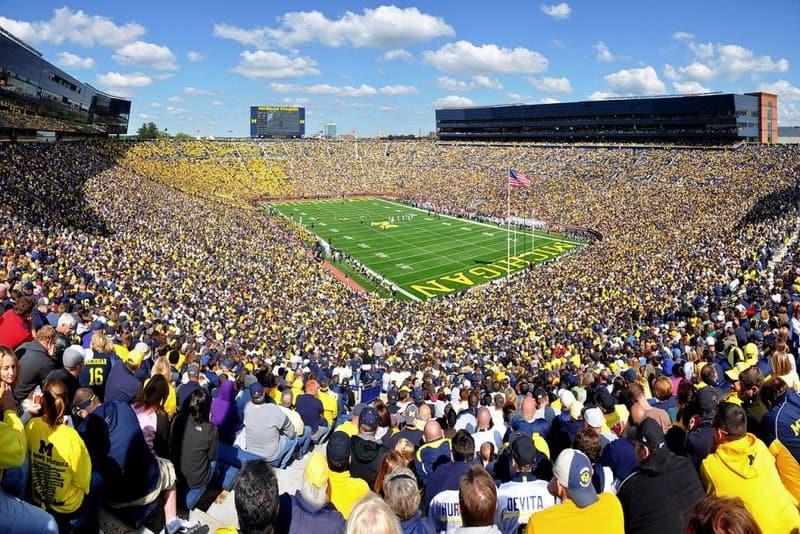 Michigan Stadium: los estadios más grandes del mundo