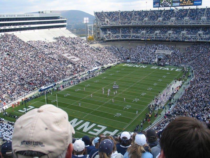 Beaver Stadium: los estadios más grandes del mundo