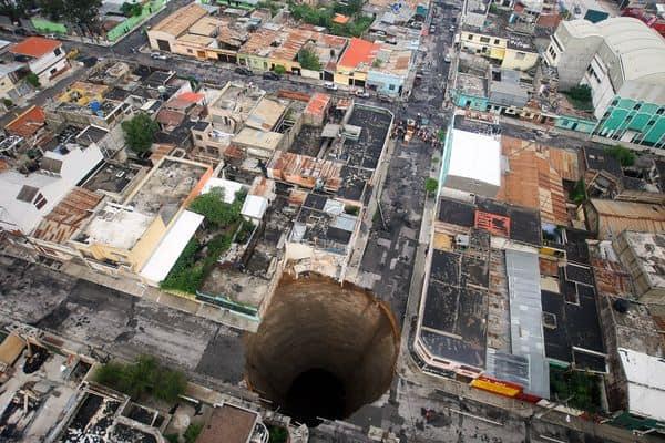 Sumidero de la Ciudad de Guatemala 2010, Guatemala