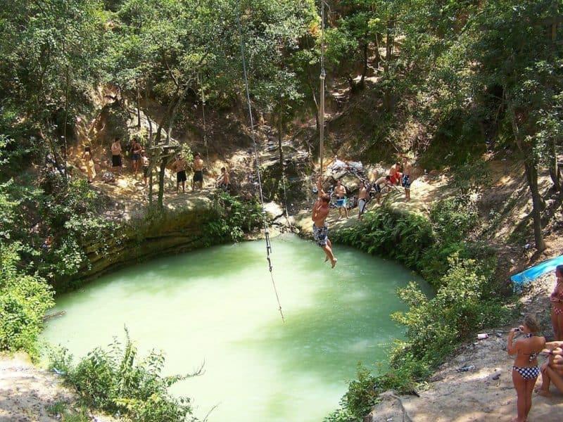 El inodoro del diablo (Devil's Hole), Florida