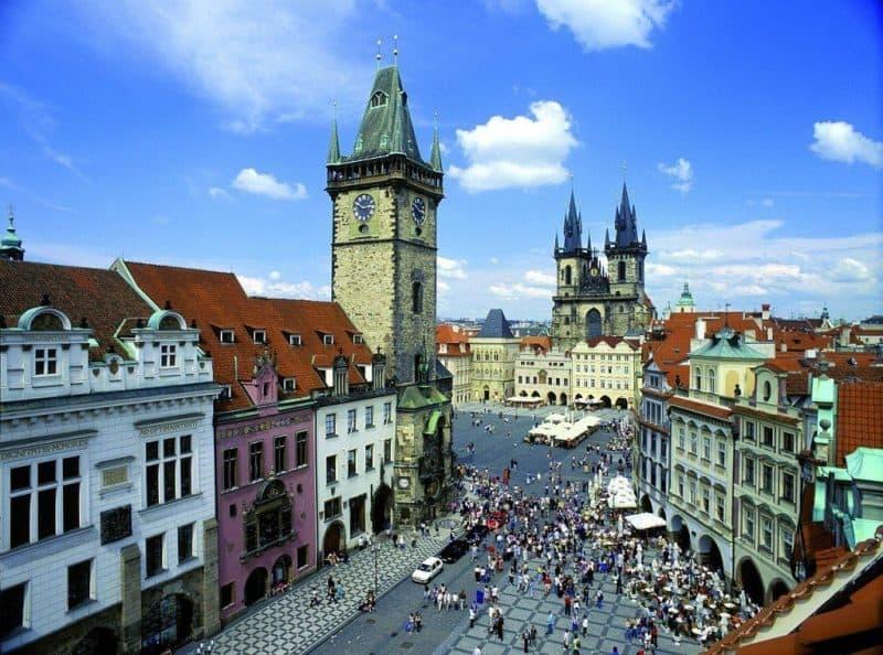 Ciudades medievales mejor conservadas: Praga