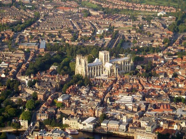 Ciudades medievales mejor conservadas: York