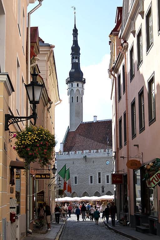 Ciudades medievales mejor conservadas: Tallin