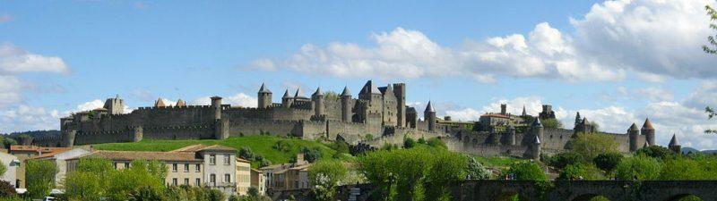 Carcasona, Francia: el casco antiguo y la famosa fortaleza