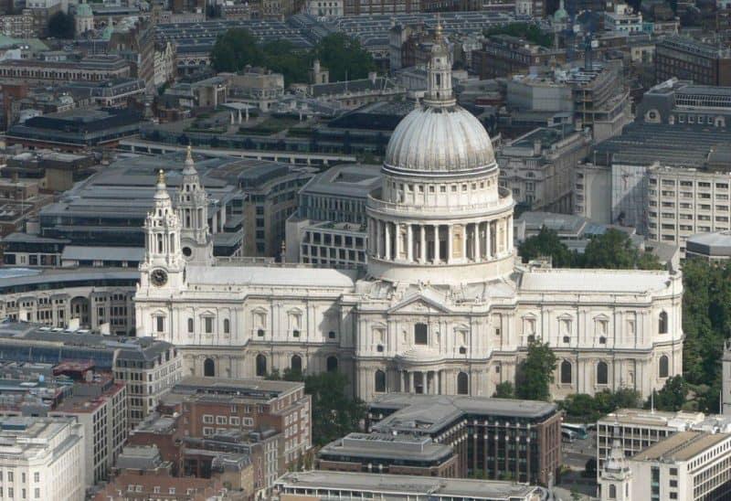Principales atracciones de Londres: Catedral de San Pablo