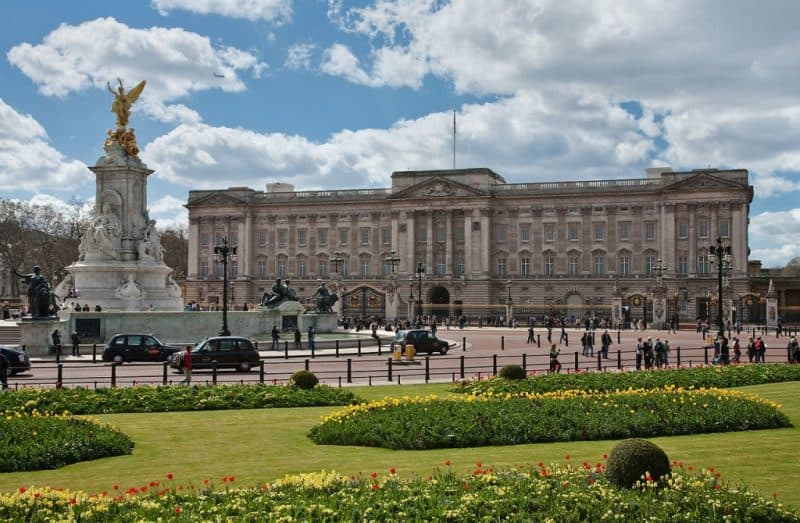Principales atracciones de Londres: Palacio de Buckingham