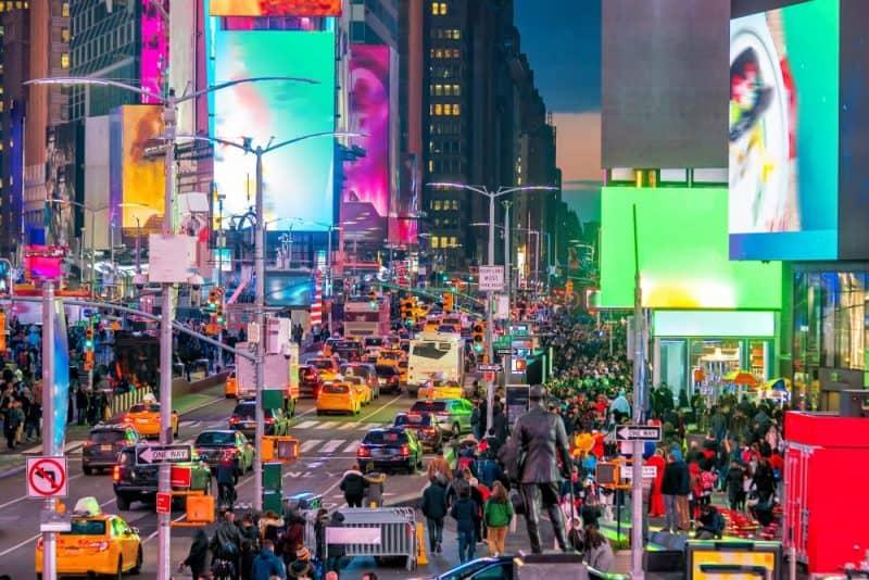 ciudades más concurridas del mundo - Nueva York