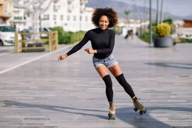 La forma más relajante de quemar calorías: patinar
