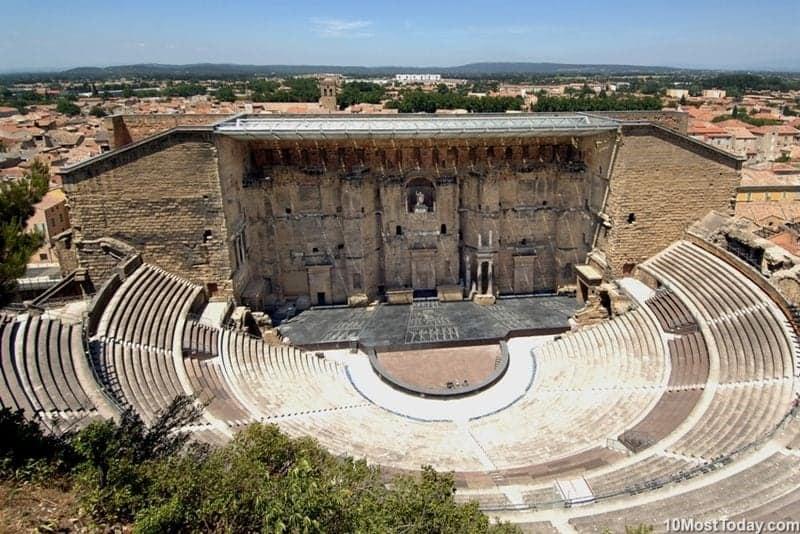 Los 10 teatros romanos más bellos 1