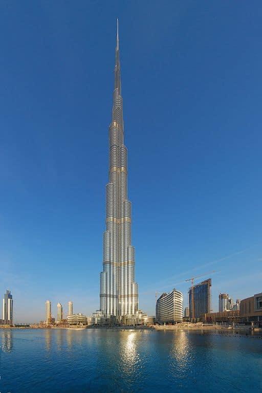 Burj Khalifa, Dubai - edificio más alto del mundo