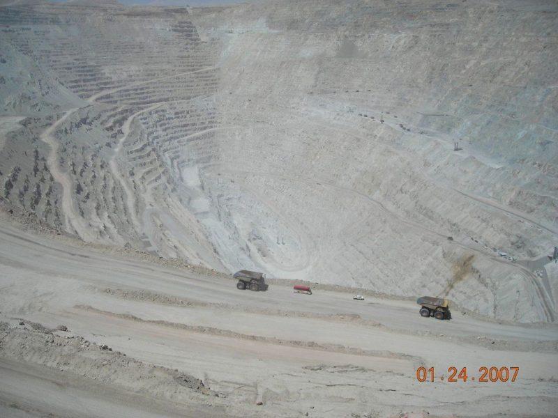 Chuquicamata (Chuqui), Chile (Fuente: Wiki)