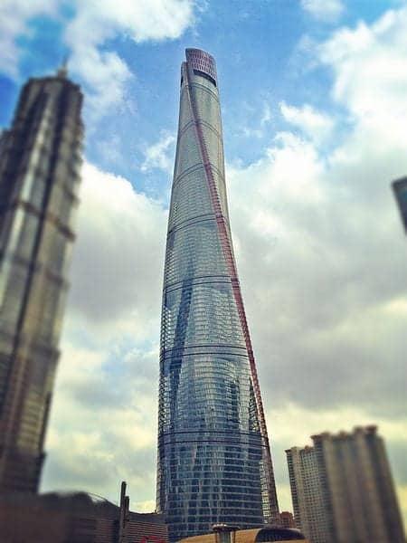 Torre de Shanghai, Shanghai, China: el edificio más alto del mundo
