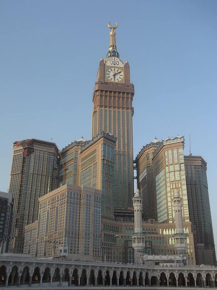 Makkah Royal Clock Tower Hotel: el edificio más alto del mundo