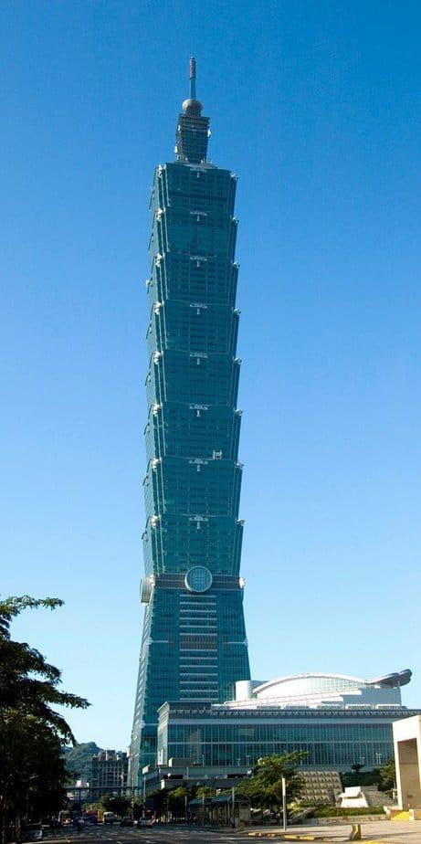 Taipei 101, Taiwán: el edificio más alto del mundo