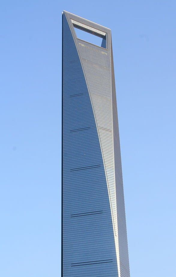 Shanghai World Financial Center, China: el edificio más alto del mundo