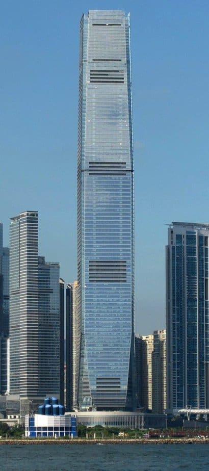 Centro de Comercio Internacional, Hong Kong - Edificio más alto del mundo