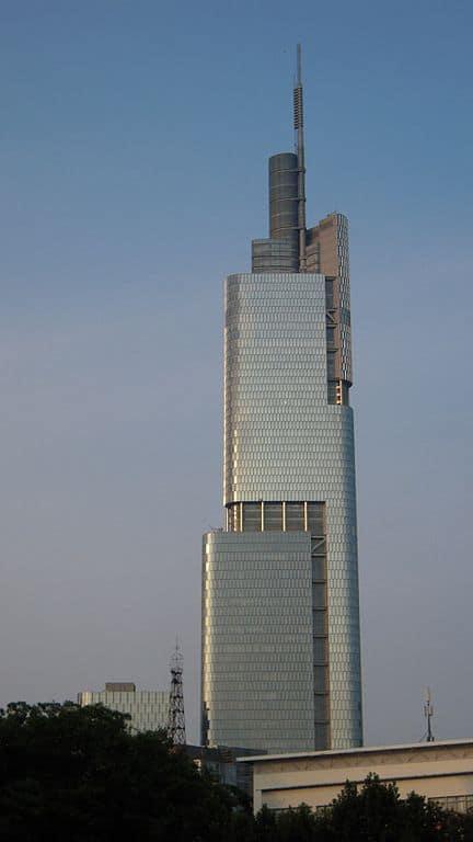 Torre Zifeng, China - edificio más alto del mundo