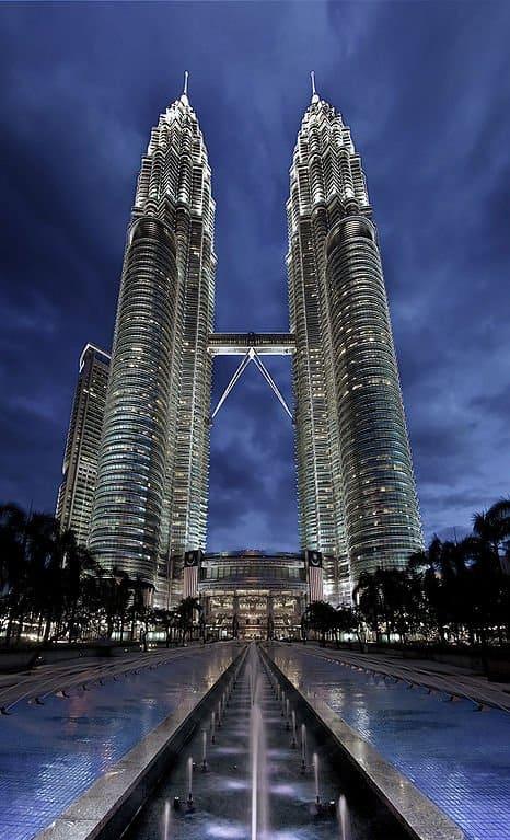 Torres Petronas, Malasia - Edificio más alto del mundo