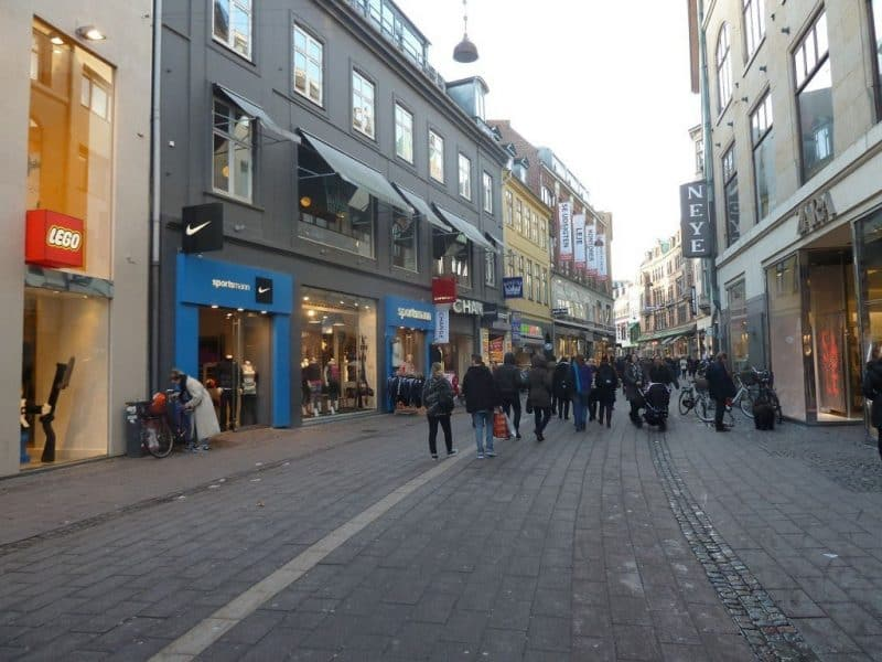 Las mejores calles comerciales del mundo: Stroget, Copenhague