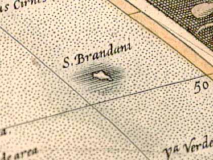Islas en mapas que realmente no existen