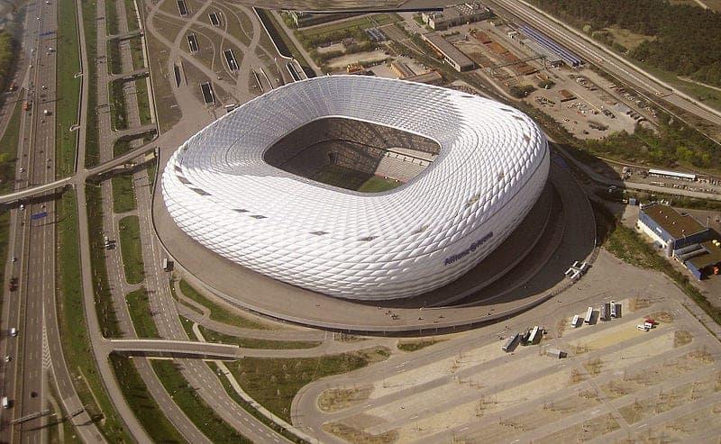 Bayern Munich en el Allianz Arena, Munich