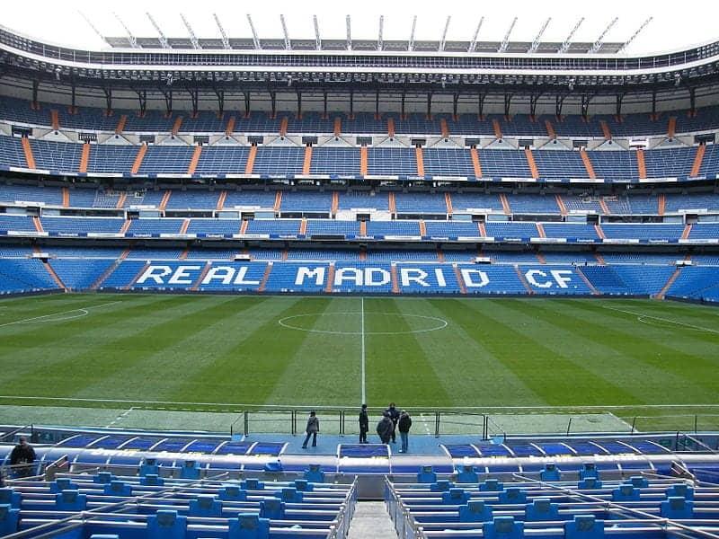 Real Madrid en el Santiago Bernabéu, Madrid