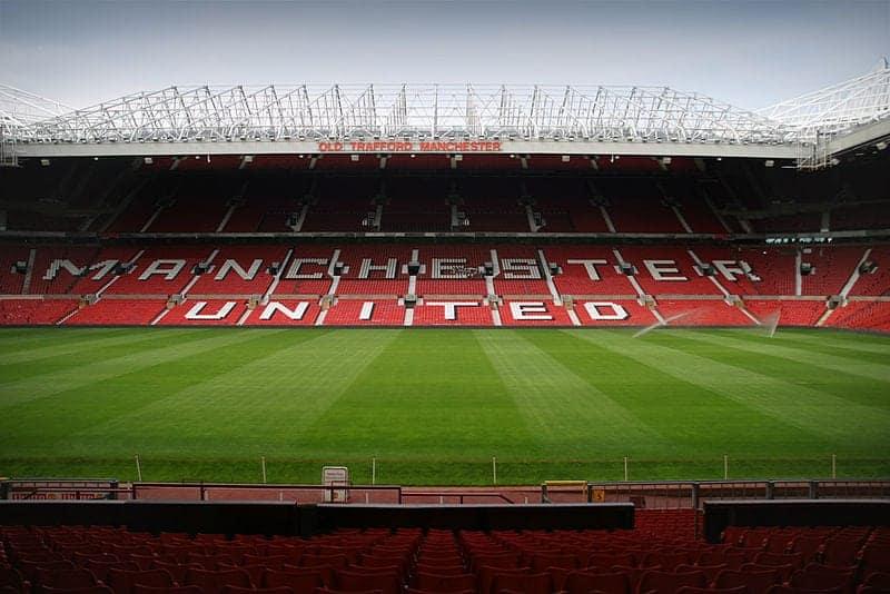 Manchester United en Old Trafford, Manchester
