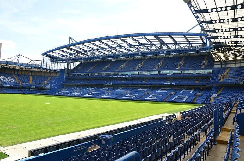 Chelsea en Stamford Bridge, Londres