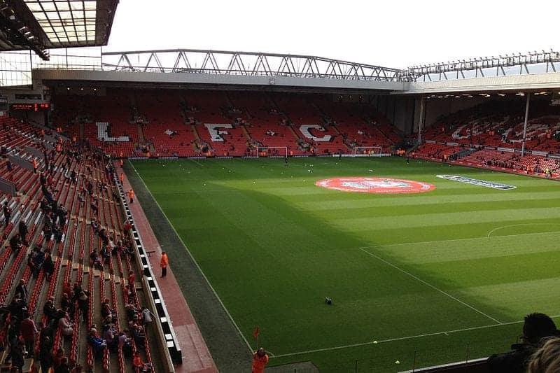 Liverpool FC en Anfield, Liverpool