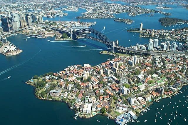 Los 10 horizontes más bellos de la ciudad: Sydney, Australia