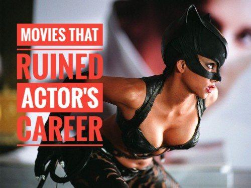 15 películas tan malas que acabaron con las carreras de los actores 1