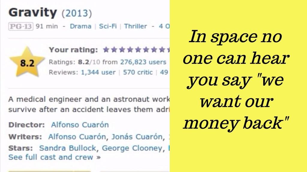 15 hilarantes reseñas de usuarios de IMDB sobre películas ganadoras del Oscar 1