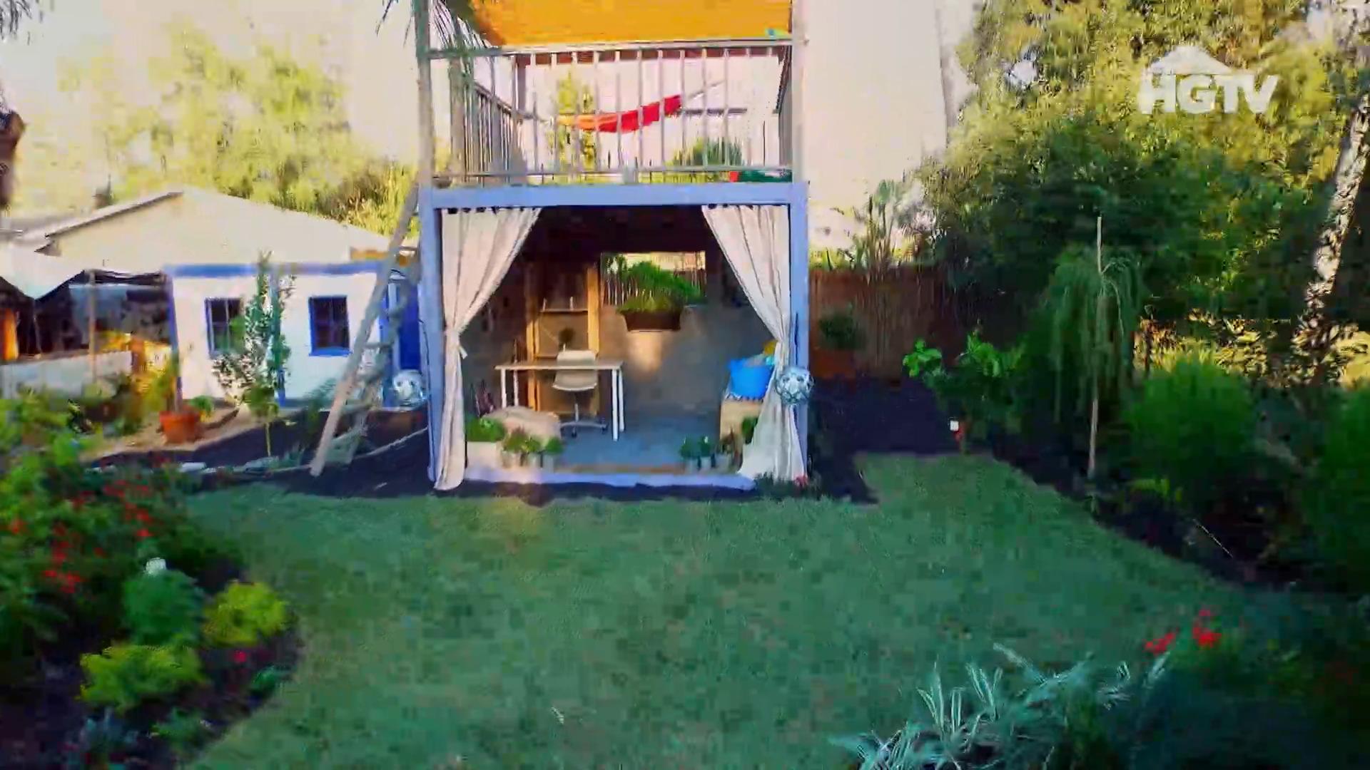 ¿Dónde tuvo lugar la filmación de la adquisición del patio trasero? 3