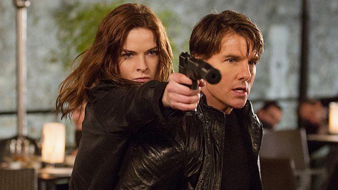 'Mission Impossible - Rogue Nation': míralo por Rebecca Ferguson, no por Tom Cruise 1