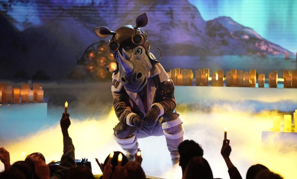 ¿Quién es Rhino en The Masked Singer? 1