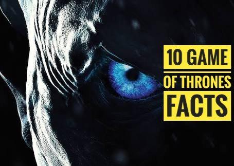 10 hechos de 'Game of Thrones' que no sabías 1